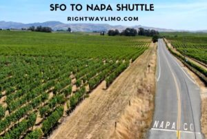 Cheap SFO to Napa Shuttle car service