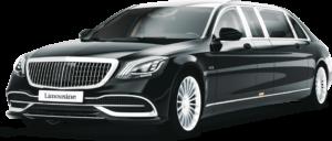 luxury limousine black